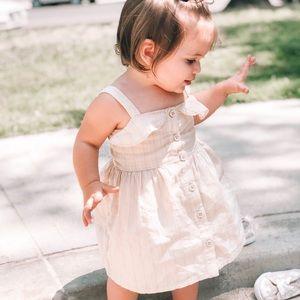 Gymboree baby girls dress 12-18m - cream